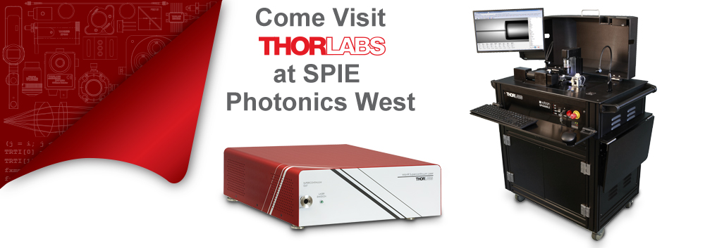 SPIE Photonics West Trade Show Exhibit