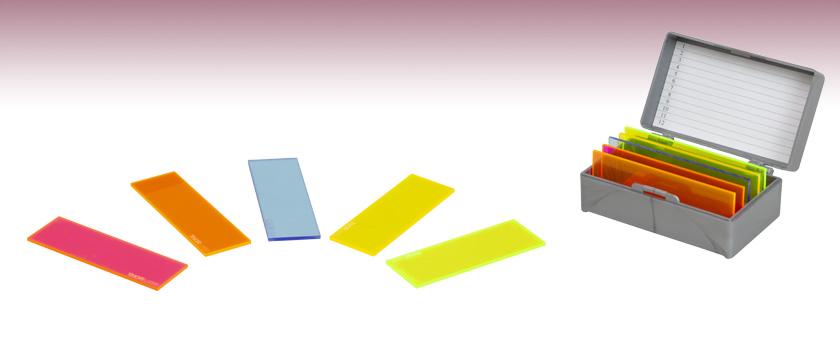 蛍光顕微鏡校正用スライド