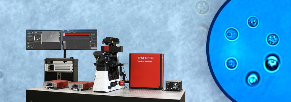 光ピンセット(光トラップ)顕微鏡システム