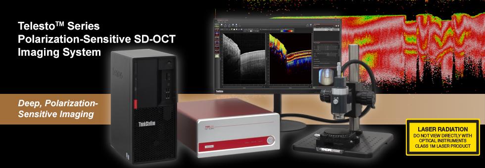 偏光感受型OCT(PS-OCT)システム Telesto™シリーズ