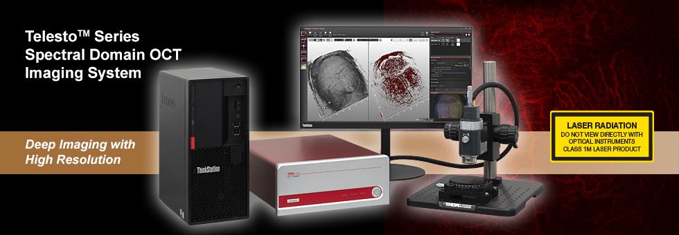 スペクトルドメインOCT(SD-OCT)システムTelesto™シリーズ