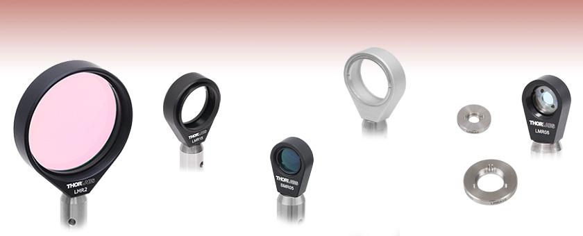 "mutiple retaining Ø 1//2/"" stackable Lens ring metal 05RR"