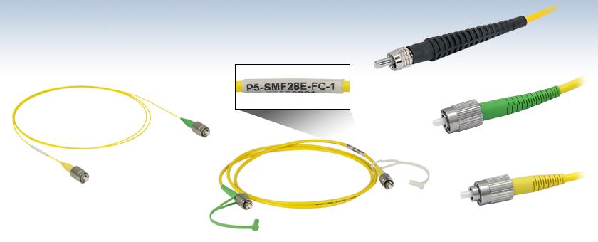 1M FC-FC Fiber Optic Cables SMF FC to FC NEW!