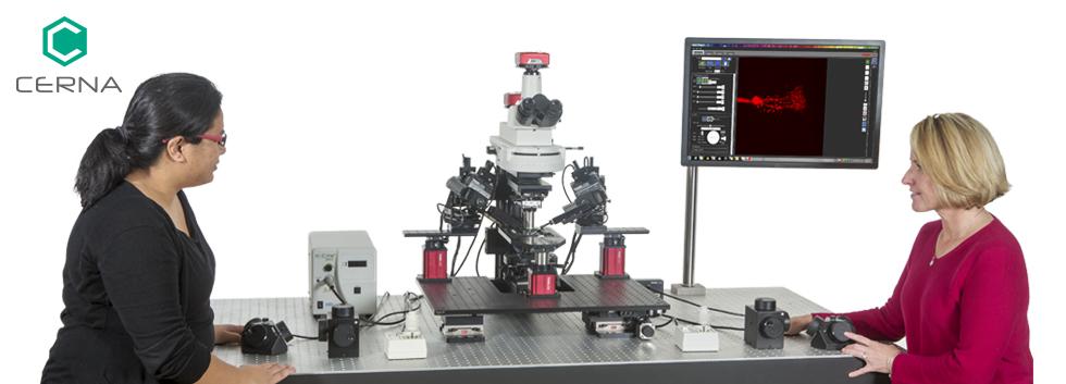 Cerna<sup>®</sup>シリーズ カスタム顕微鏡システムとコンポーネント