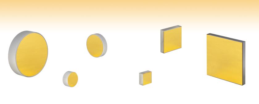 保護膜無し金製ミラー