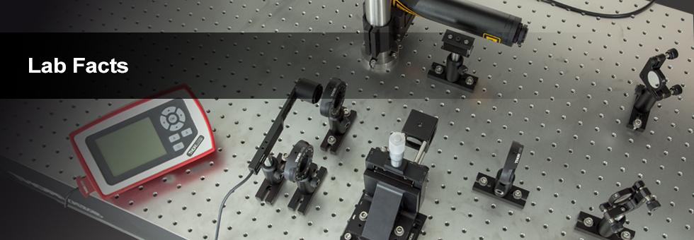 偏光無依存型ビームスプリッタの実験データ