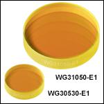 サファイアウィンドウ、ARコーティング:2.0~5.0 µm