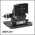顕微鏡ボディ用移動マウント