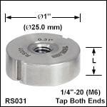 Ø25 mmポスト、長さ10 mm以下