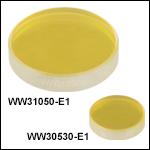 サファイアウェッジウィンドウ、ARコーティング: 2.0~5.0 µm