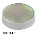 ショートパスダイクロイックミラー/ビームスプリッタ、カットオフ波長:638 nm