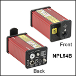パルスレーザ、パルス幅可変:5~39 ns、パルスエネルギ:1.2~3.5 nJ