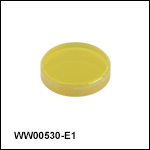 フッ化バリウム(BaF<sub>2</sub>)ウェッジウィンドウ、ARコーティング:2~5 µm
