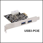 Super Speed USB 3.0 ケーブル(Type-A - Micro-B)およびPCIeカード