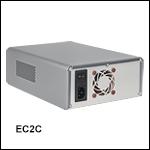 ベンチトップ型電子回路用ケース、電子機器モジュール取付け済み