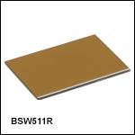 プレート型ビームスプリッタ、1~6 µm