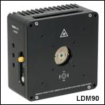 Ø9.0 mm半導体レーザ用温度制御付きマウント