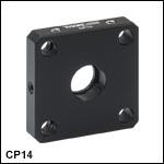 標準型ケージプレート、Ø12 mm~Ø12.7 mm(Ø1/2インチ)光学素子用