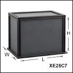 黒色ハードボード筐体
