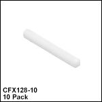 Ø1.25 mm、長さ10.5 mmセラミック製フェルール(シングルモード/マルチモードファイバ用)