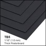 黒色ポスターボード