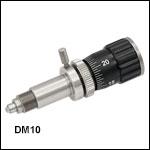 手動型差動アジャスタ、移動量12.7 mm(1/2インチ)