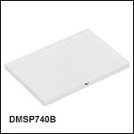 マルチバンドダイクロイックミラー:カットオフ波長740 nm/1080 nm、カットオン波長1020 nm