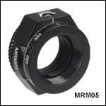 ミニシリーズ連続回転マウント、Ø12 mm~Ø12.7 mm(Ø1/2インチ)光学素子用