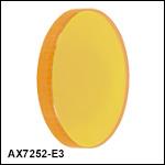 セレン化亜鉛(ZnSe)円錐(アキシコンレンズ)、ARコーティング:7 µm~12 µm