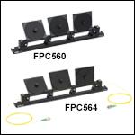 3パドル型偏光コントローラ、ループ径Ø56 mm
