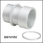 調整機能付きØ25 mm~Ø25.4 mm(Ø1インチ)光学素子用レンズチューブ、真空対応