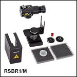 反射型フロントエンド、粉末および固体サンプル用