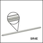 目盛付きSRシリーズアセンブリロッド、16 mmケージシステム用
