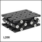 ミニシリーズ対応ラボジャッキ(取付け面積:76.2 mm x 101.6 mm)