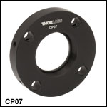 Ø50 mm~Ø50.8 mm円形ケージプレート、30 mmケージシステム&SM1対応