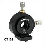 Ø12 mm~Ø12.7 mm(Ø1/2インチ)光学素子用XY移動マウント