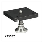 XT95シリーズ、水平レベル調整脚