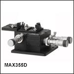 シングルモードファイバ入射システム、GRINレンズおよびFCコネクタ用