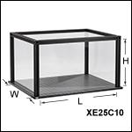 プレキシガラス製筐体