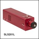 安定化タングステンハロゲン光源、360~2600 nm