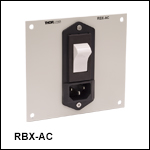 AC電源入力付きモジュールパネル