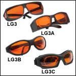 レーザ保護眼鏡、可視光透過率48%