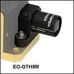 グラントムソン偏光子取付けアダプタ、EO変調器用