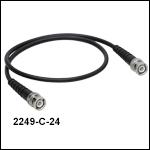 BNC-BNCケーブル、Ø5.1 mm(Ø0.2インチ)