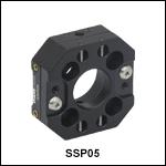 16 mmケージ用スリッププレートポジショニングシステム、ポスト取付け可能