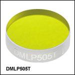 ロングパスダイクロイックミラー/ビームスプリッタ、カットオン波長:505 nm