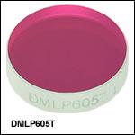 ロングパスダイクロイックミラー/ビームスプリッタ、カットオン波長:605 nm
