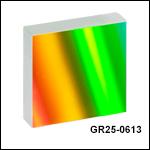 刻線回折格子、ブレーズ波長1.25 µm