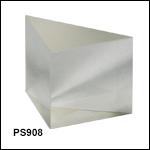 N-BK7直角プリズム、コーティング無し、350 nm~2 µm