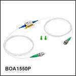 偏光依存型半導体光増幅器(BOA)、バタフライパッケージ